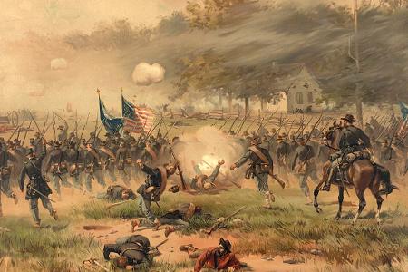 Antietam Battle, Dunker Church