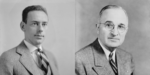 Secretary of State Dean Acheson and President Harry Truman