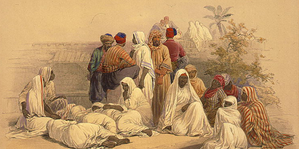 Ban Slavery, Egyptian Trade Market