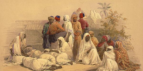 Ban Slavery, Egyptian Trade Market