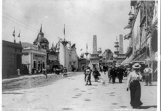Lubin and Betzwood exhibiting at the Buffalo World's Fair 1901