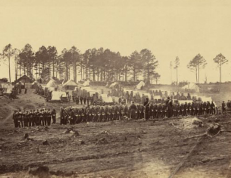 Brandy Station Winter Encampment