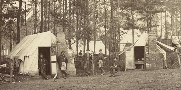 Brandy Station Winter Headquarters 1864