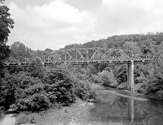 Bridge over Buffalo River