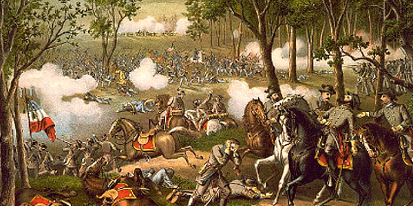Chancellorsville Battle 1863