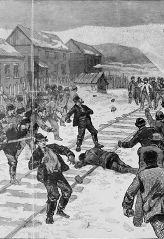 Violence at Coal Mine