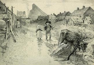 Coal Mining Town Company Street