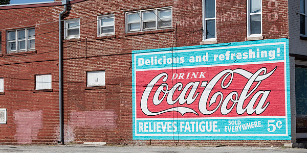 Coca-Cola Building Sign