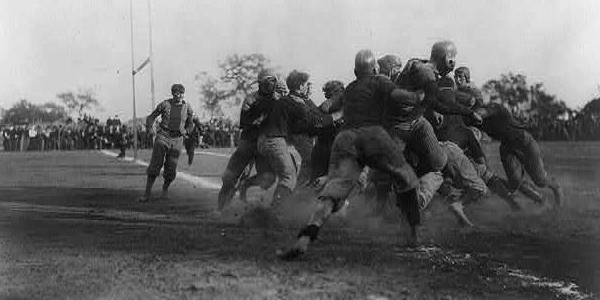 College Football Scrimmage 1902
