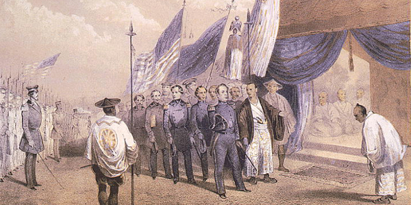 Commodore Perry in Japan