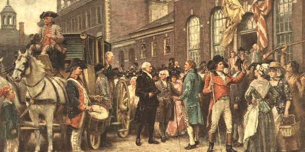 George Washington at Congress Hall