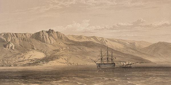 Southeast Coast of Crimea 1855