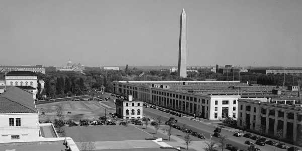 View from Federal Reserve Building, Washington, D.C.