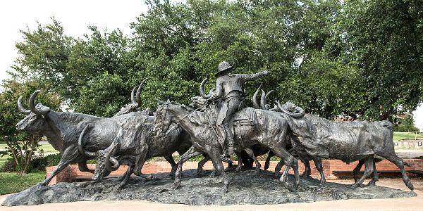 Texas Gold Sculpture