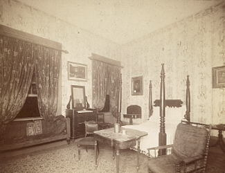 Bedroom at the Hermitage