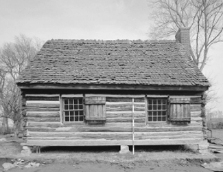 First Hermitage cabin