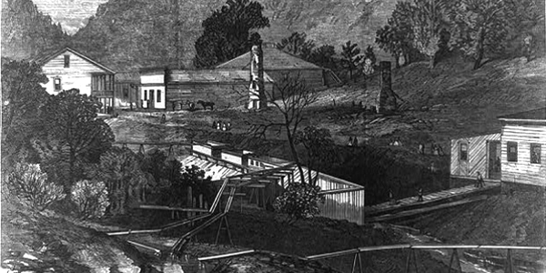 Hot Springs in 1873