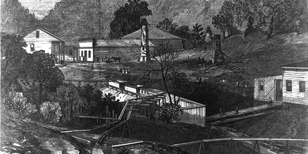 Hot Springs in 1873