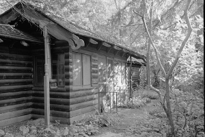 Indiana Dunes Cypress Log Cabin
