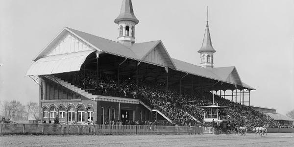 Grandstand at Churchill Downs, Kentucky Derby