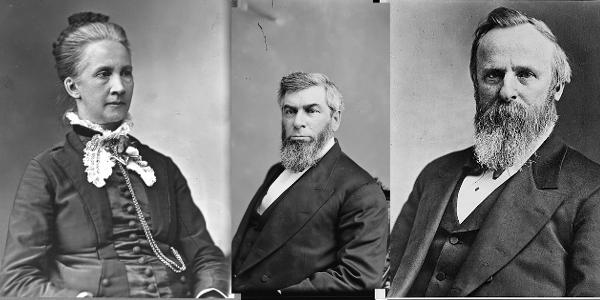 Belva Lockwood, Morrison Waite, President Hayes