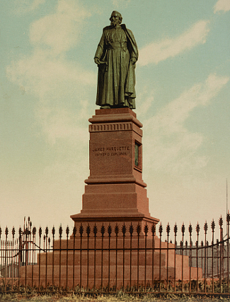 Statue of Jacques Marquette