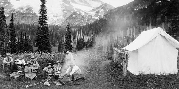 Indian George Camp Mount Rainier