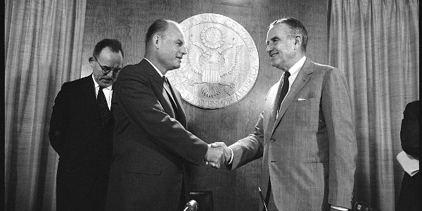 Nuclear Test Ban Treaty Signing