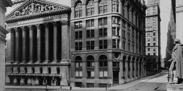 New York Stock Exchange 1921