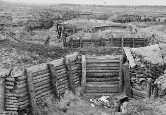 Petersburg Siege entrenchments