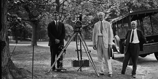 Phonofilm on the White House Grounds
