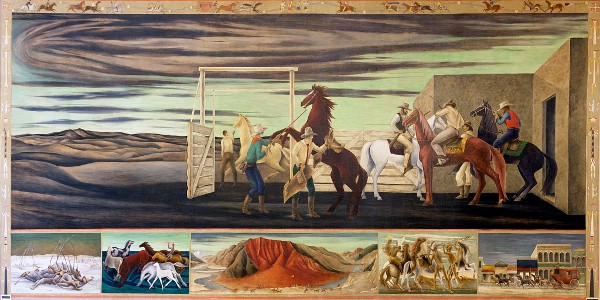 Pony Express Mural