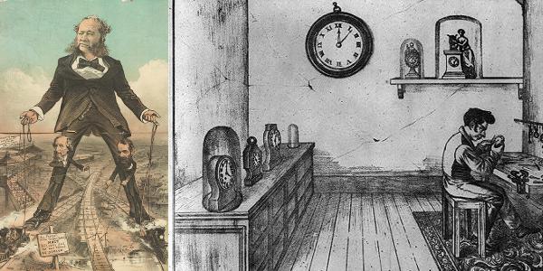 Railroad Colossus and Clock Maker