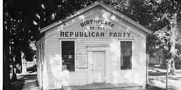 Republican Party, Ripon, Wisconsin
