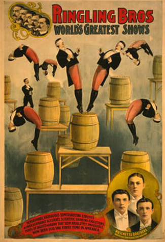 Ringling Circus Poster