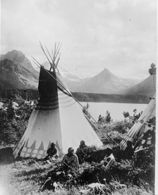 Indian tribes at Rocky Mountain National Park