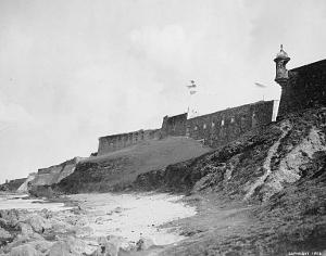 El Morro fort in San Juan, Puerto Rico.