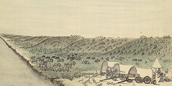 Sketch of the Santa Fe Trail