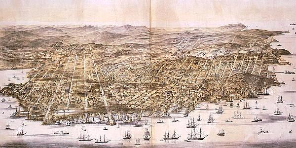 San Francisco in 1864
