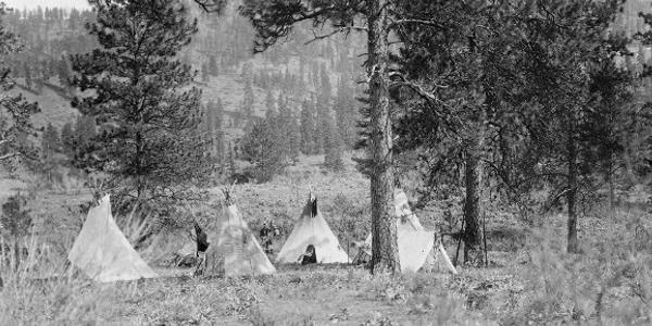 Spokan Indian Camp