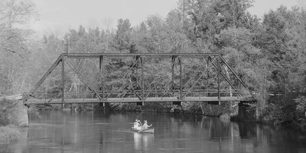 Namekogon River Bridge at Earl