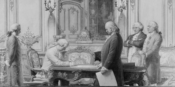 Signing of the Treaty of Amity and Commerce