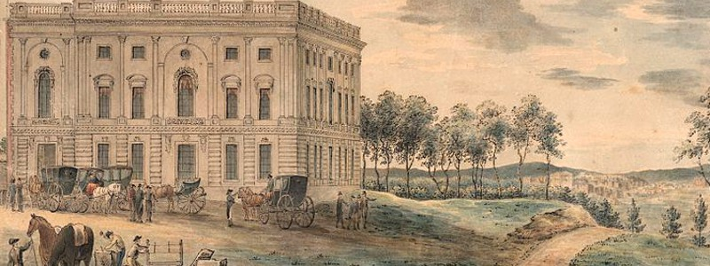 North Wing of Capitol 1810