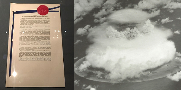 Nuclear Testing and Non-Proliferation Agreement of 1968