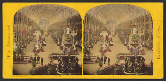 View of London World's Fair 1862
