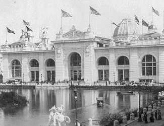 Mining Building Chicago 1893 World's Fair