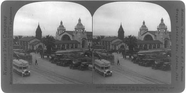 San Diego Train Station 1915