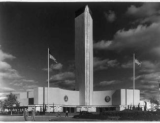 U.S. Government Building, Texas Centennial