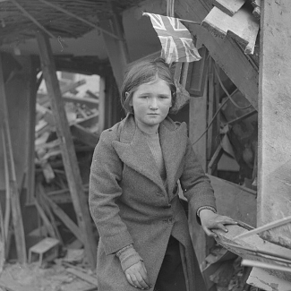 British Girl in World War II