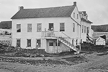 Home of John Burns, only citizen to fight in the Battle of Gettysburg